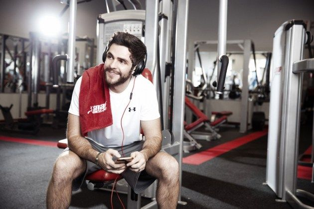 Thomas Rhett Proud to Inspire Fitness Goals Within Fan Base