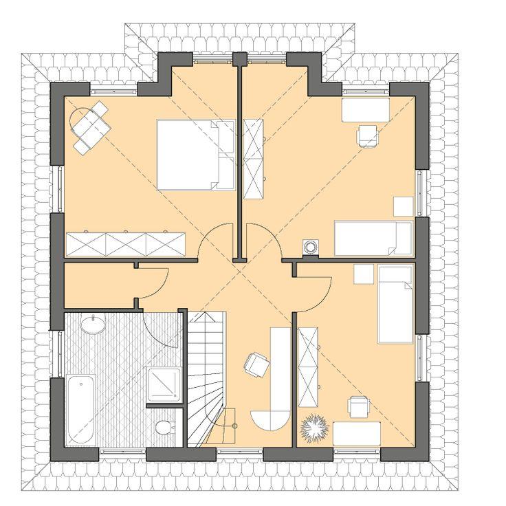 1000 bilder zu ideen rund ums haus auf pinterest kamine for Grundriss moderne villa