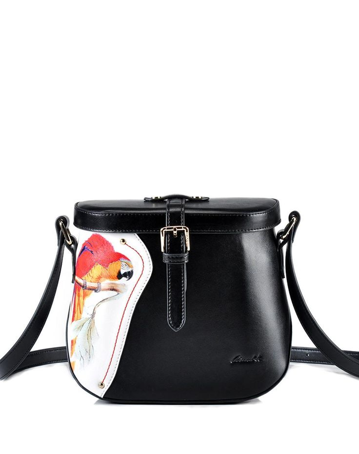 87e82de1ec01  AdoreWe  VIPme (VIPSHOP Global) QIANBH❤️Designer Accessories Parrot  Painted Crossbody -