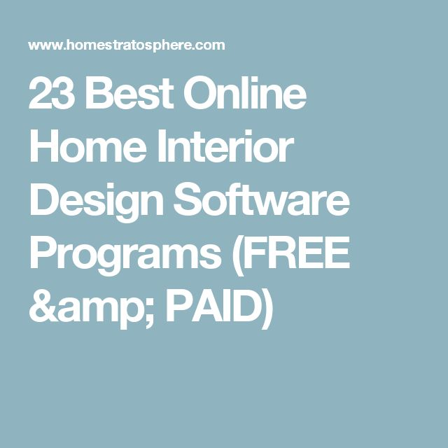 1000 Ideas About Free Interior Design Software On