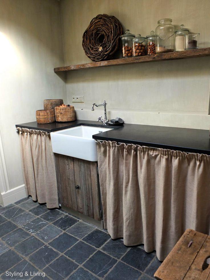 мог кухня со шторками вместо дверок фото готовые шторы бесплатной