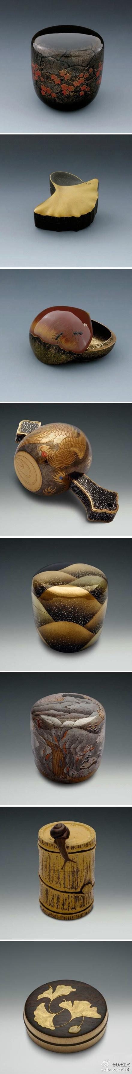 美轮美奂的当代日本漆 - 味图