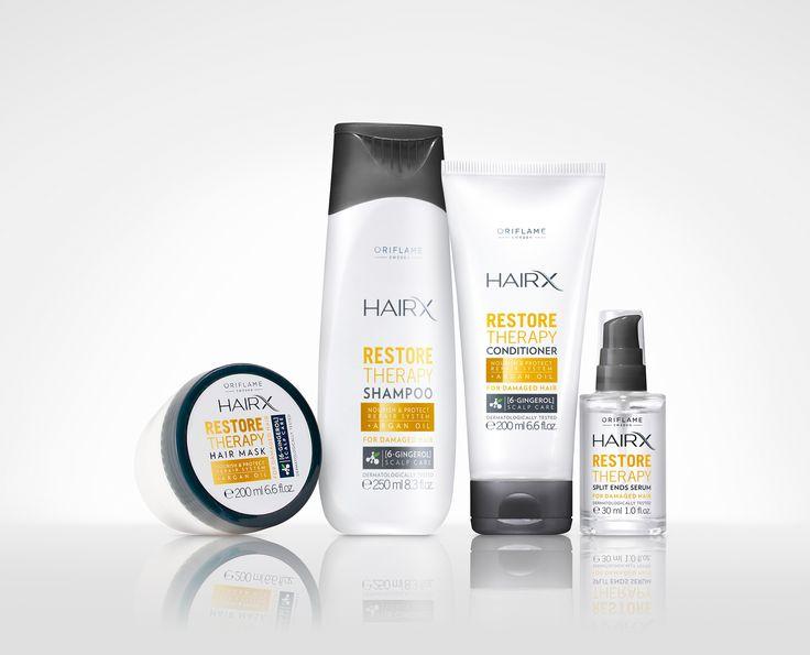 Oriflame Cosmetics, HairX range - ButterflyCannon - Boutique agency