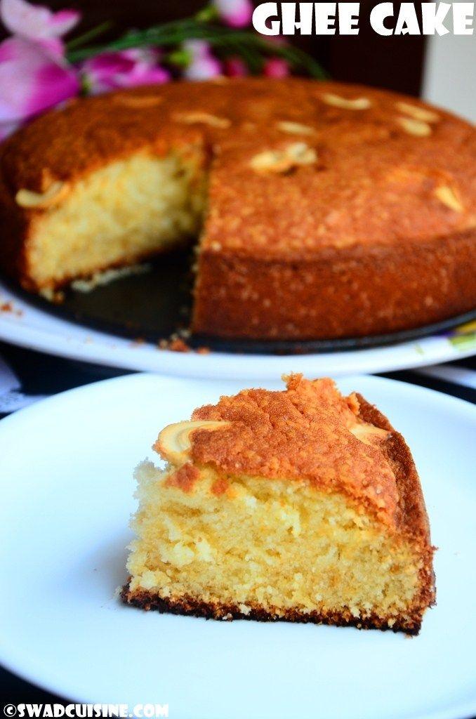 Ghee Cake- Bakery Style Ghee Cake