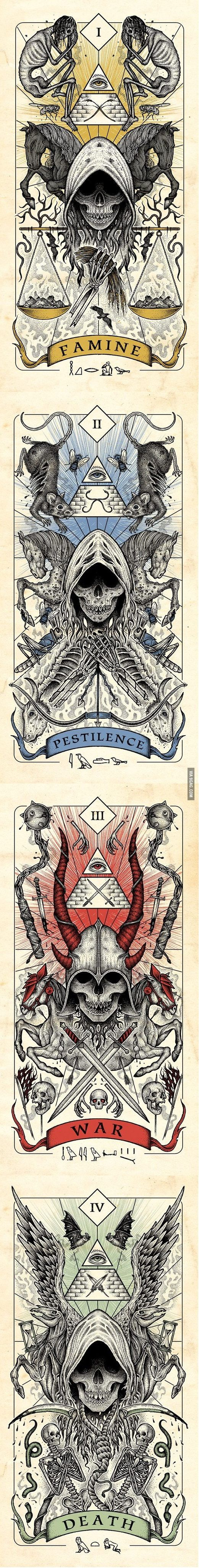 Four Horsemen of the Apocalypse... - 9GAG