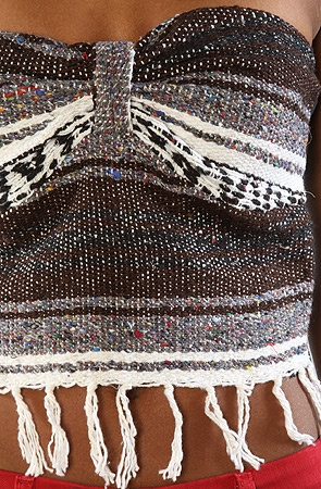mexican blanket top