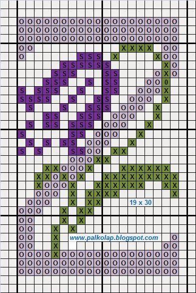 Palkó-lap: 785. Madáritató, virágok, némi hímzés és betűk / Vogeltränke, Blumen, eine kleine Stickerei und Buchstaben