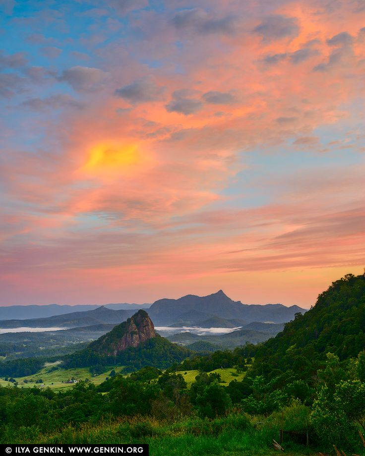 Mt Warning (NSW) Sunrise