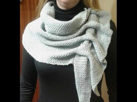 BUFANDA SCRAF ORUGA A CROCHET FACIL - YouTube
