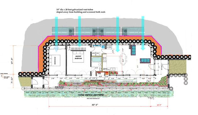 G2 Earthship Floor Plan