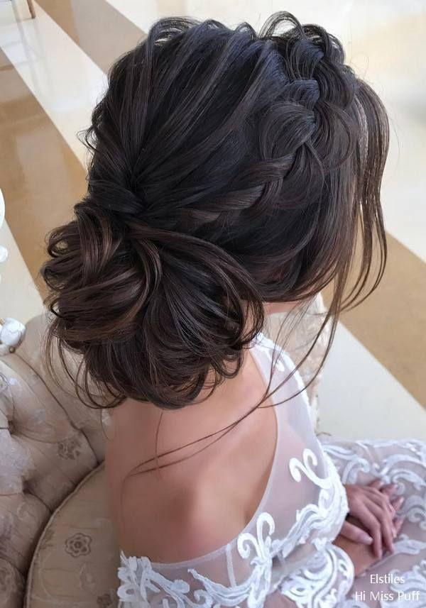 60 + Elstile Lange Hochzeitsfrisuren und Hochsteckfrisuren – #elstile #hairstyles #updos #we … – frisur aktuellpin