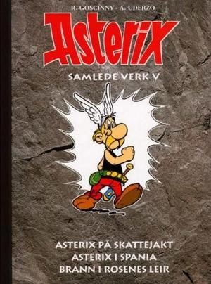 """Asterix - samlede verk - bok 5"" av René Goscinny"