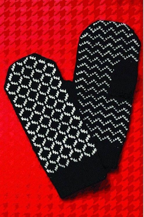 Veronik Avery - Wallpaper Mittens | Patternfish