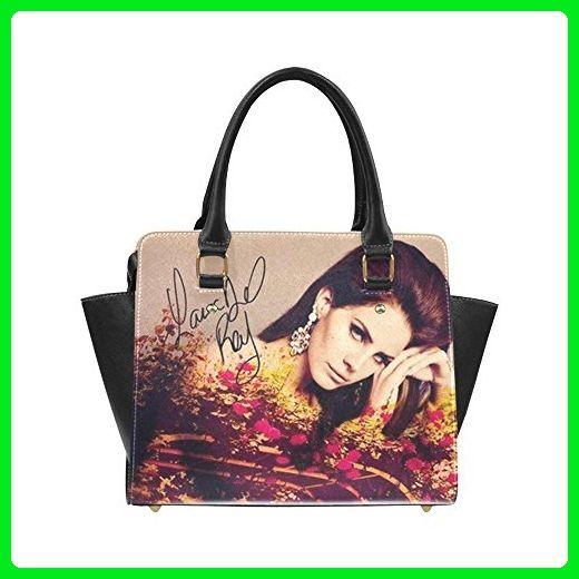 Angelinana American singer songwriter Lana Del Rey Custom Handbag Fashion Shoulder Bag PU leather Women's Handbags - Shoulder bags (*Amazon Partner-Link)
