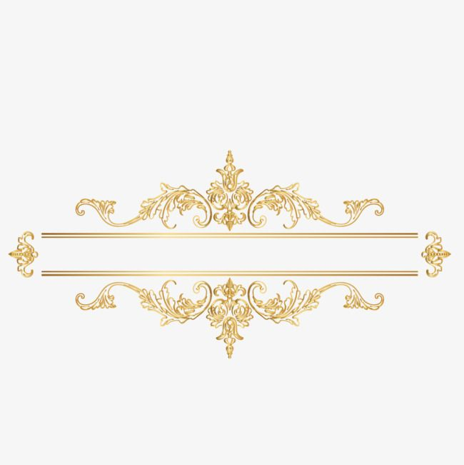 35+ Trends For Gold Vector Border Design Png
