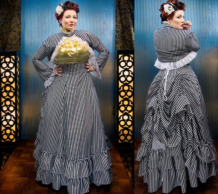 Sometimes I fantasize about being able to sew something like this myself...then wipe the tears of laughter out of my eyes and count my pennies so that I may just buy it one day. From Retroscope Fashions.