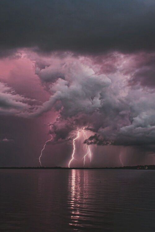 clouds, storm, and sky