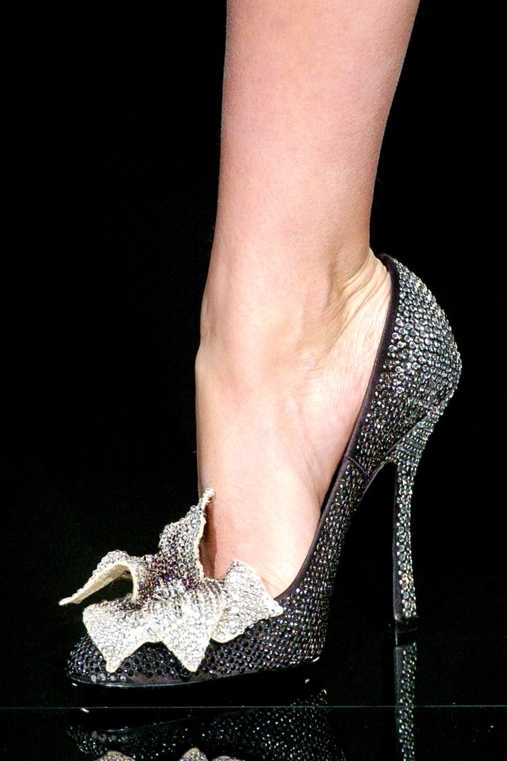 Tuesday Shoe Day :: Valentino Couture Shoes - Inside The Lovely