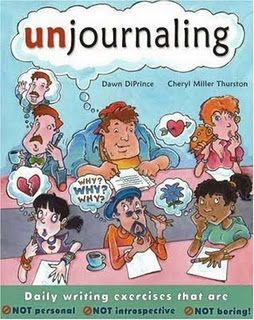 Unjournaling-- a creative approach to getting kids excited about daily writing