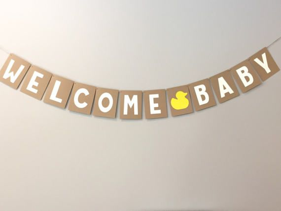welcome baby banner, welcome home banner, baby banner, baby shower banner, new baby banner, baby nursery banner, welcome banner, photo prop
