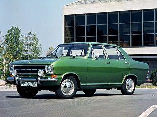 Opel Kadett 4-door Sedan (1965 – 1973).