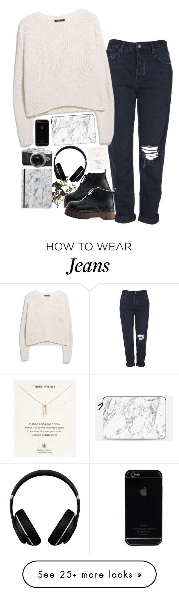 """""""CASETIFY 5"""" by sisistyle on Polyvore featuring OKA, Topshop, MANGO, Casetify, Dogeared, Alexander Wang and Retrò"""