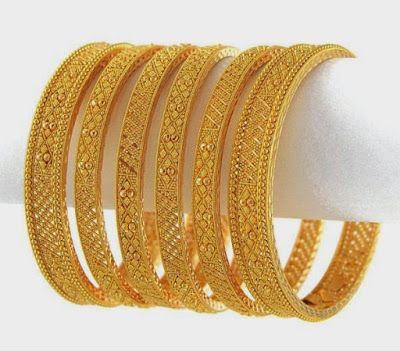 Latest Gold Choria/Bangas Designs