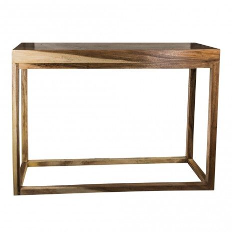 Teakwood acryllic side table rectangle - Tafels - Meubelen - PTMD