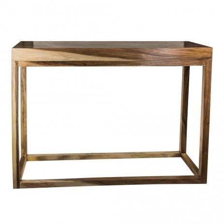 Teakwood acryllic side table rectangle - Tafels - Meubelen - PTMD