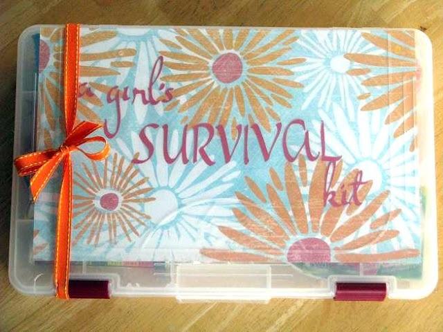 girl's survival kit