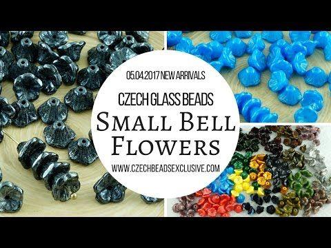 Czech Glass Beads: Small Bell Flower Beads – New Arrivals 05.04.2017 | CzechBeadsExclusive