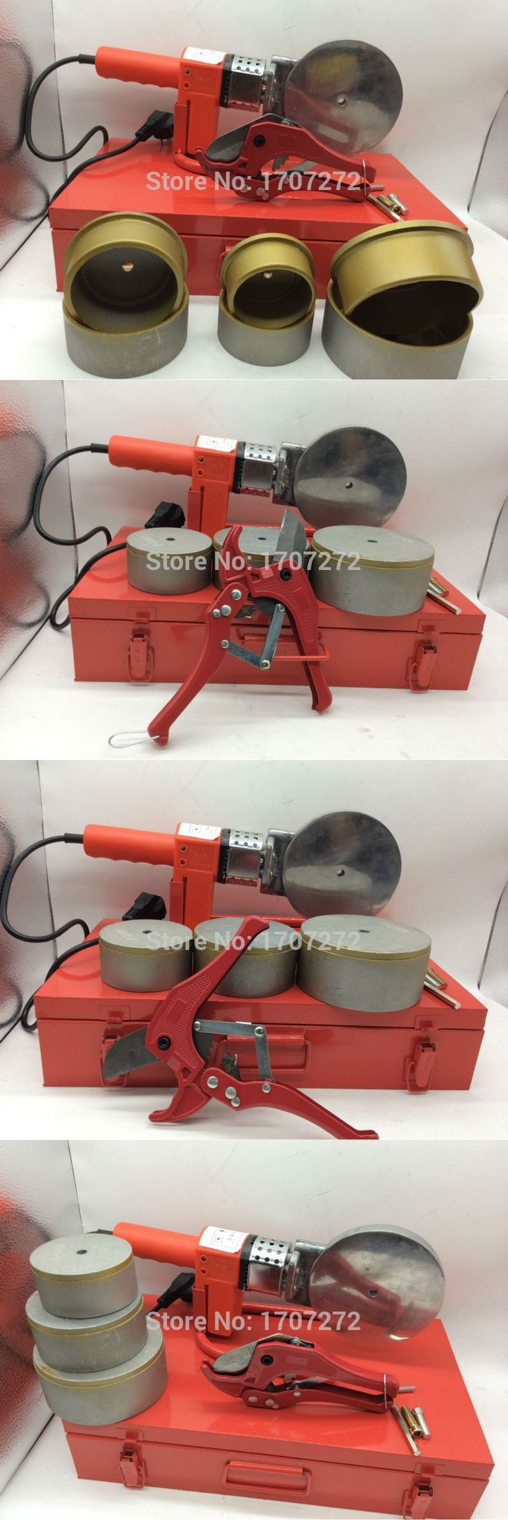 constant temperature electronic PPR Welding Machine, plastic pipe welding machine AC 220V 1500W, 75-110mm welding pipes