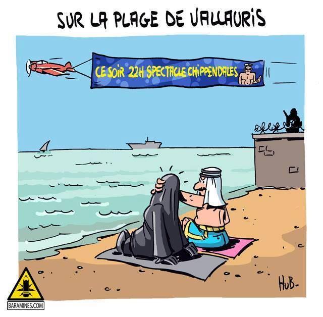 Avion tractant une publicité pour les Chippendales Vallauris : plus de 120.000 signatures contre la plage privée du roi saoudien. La plage de la discorde. Le roi d'Arabie saoudite Salmane ben Abdel Aziz est arrivé samedi 25 juillet 2015 sur la Côte d'Azur,...