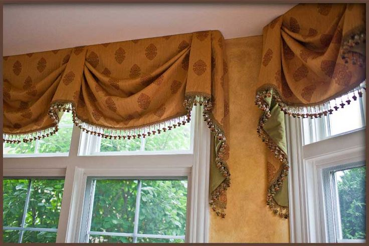 17 best images about window treatments on pinterest for Custom window treatments