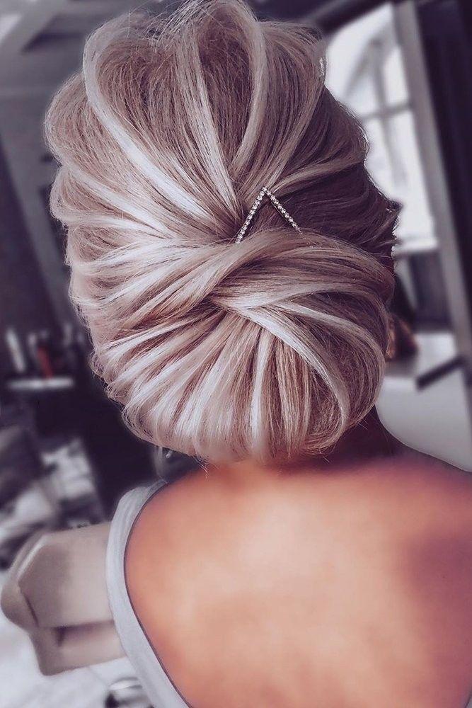 27+ Longueur cheveux chignon mariage idees en 2021