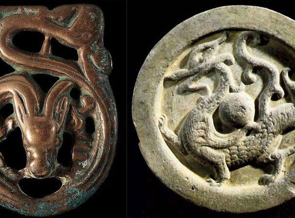 Сибирские археологи нашли уникальное изображение дракона наоберегах