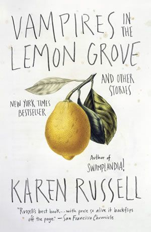 OOh so excited. I love Karen Russell and this cover is amazing. Cardon Webb book cover design