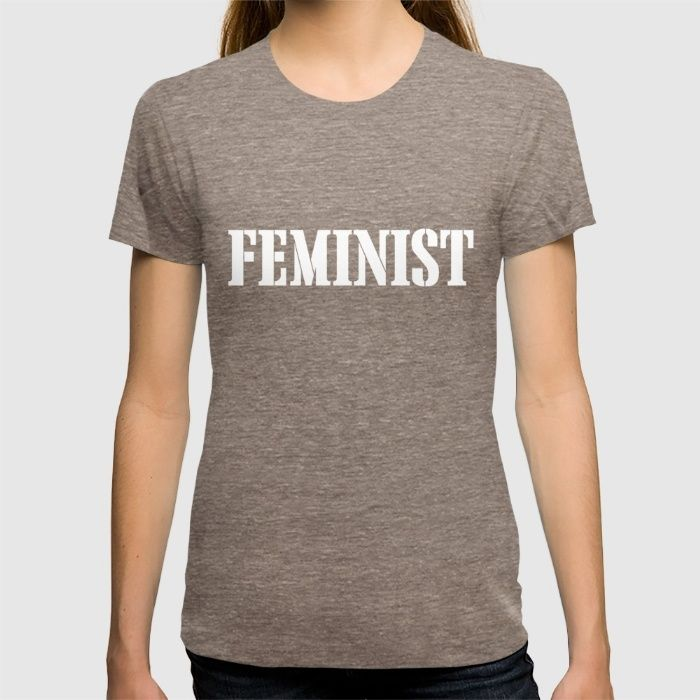 Feminist T-shirt #Feminist