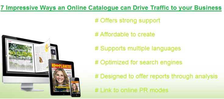 7 Impressive Ways an Online Catalogue can Drive Traffic to your Business