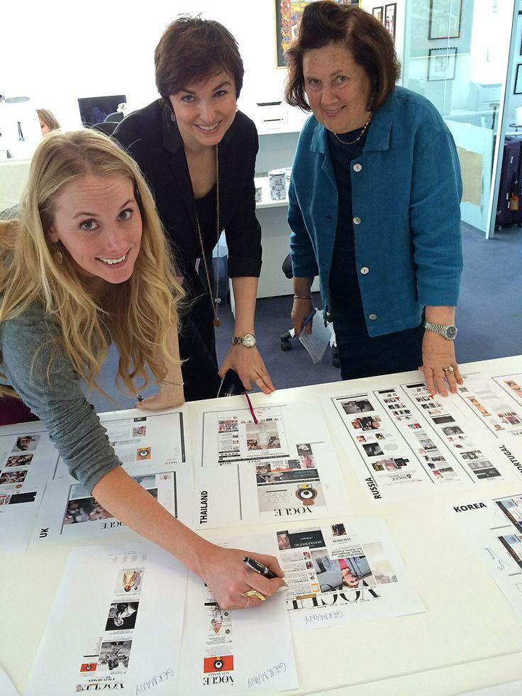 Best Fashion Editors  Cmo Se Visten Las Mujeres Que Trabajan