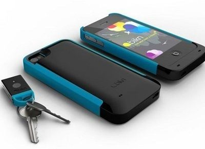 With this App  Case, your phone finds your keys for you and your keys find your phone for you.