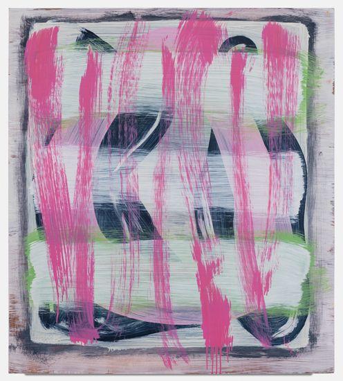 Jon Pestoni, Insomnia, 2012, oil on canvas, 45 x 40 x 1.25 inches (114.3 x 101.6 x 3.2 cm)