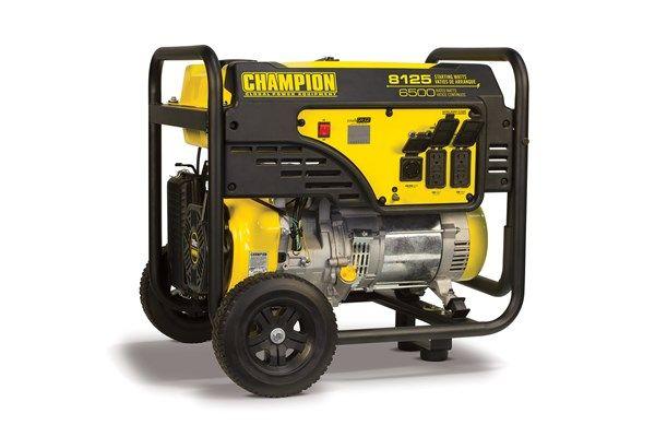 100109 6500 8125w Generator Manual Start Product Details Portable Generator Generation Portable