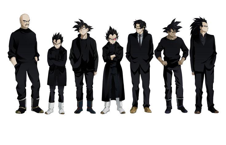 Render Dragon Ball - Renders Goku Gohan vegeta broly thales nappa raditz sangoku sangohan saiyen costume dragon ball z