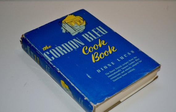 Vintage Cookbook  The Cordon Bleu  Dione Lucas by vintagepeachtree, $22.00
