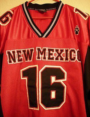 New Mexico Lobos UNM Football Jersey Playmaker #16 Isaiah Brown Cornerback NCAA $24.98
