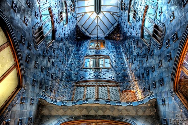 Interior Casa Batllo | Gaudí | Pinterest