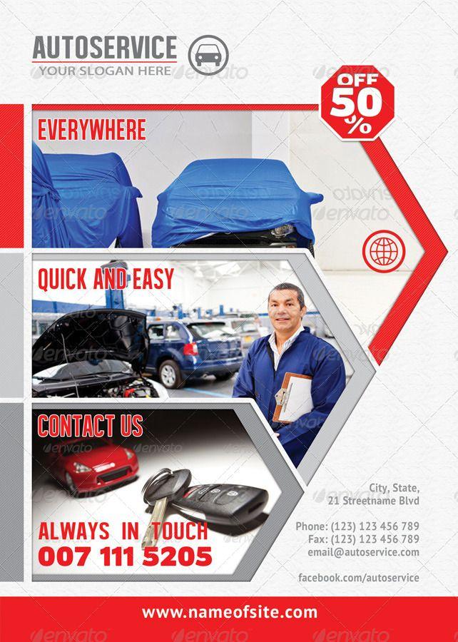 Insurance Bundle Flyer Template 02