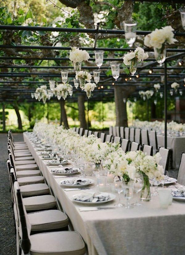 Ideen für die Tischdeko zur Hochzeit | Friedatheres.com