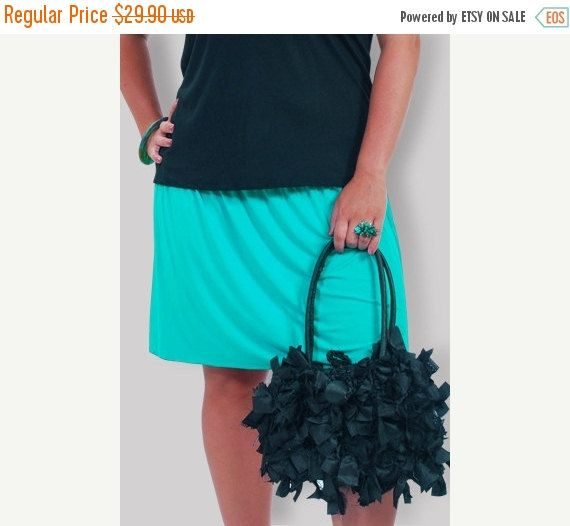 15% OFF Holiday Sale Plus Size Skirt  Clothing by GenerousFashions